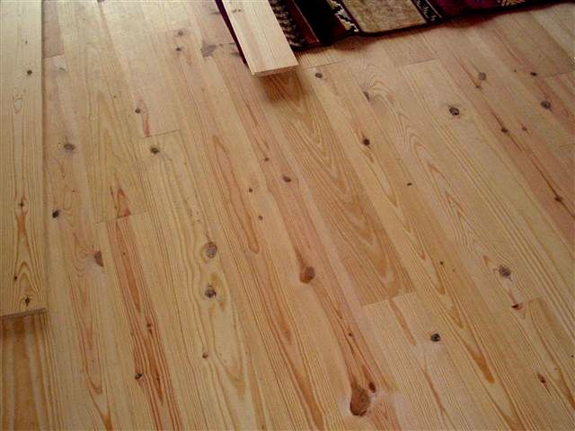 New Knotty Pine Tongue And Groove Unfinished Wood Flooring